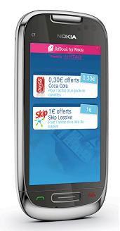 Nokia C7 Airtag NFC