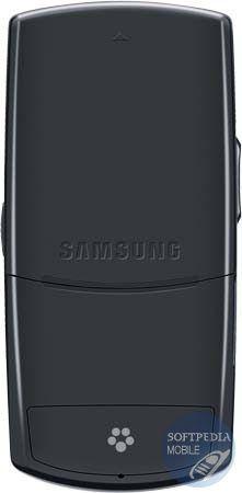 Samsung T659 Scarlet arrière