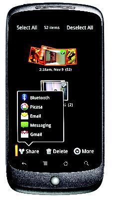 Google Nexus One interface 02