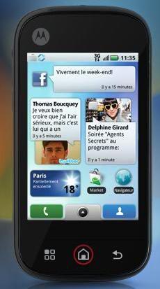 Motorola Dext MOTOBLUR