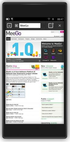 MeeGo interface 02