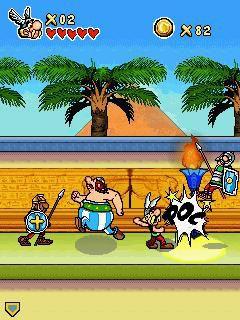 Asterix cleopatre gameloft 02