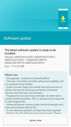 Samsung Galaxy A8 Marshmallow (3)
