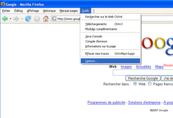 Firefox Page Accueil 1