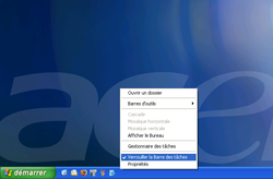 Web barre t