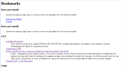 Page Web Marque-Pages 4