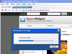 Widgets Opera 2