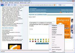 Correcteur Firefox 3