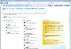 Recherche IE7 2