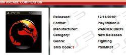 Mortal Kombat Arcade Compilation - ShopTo