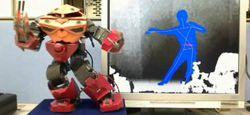 Robot V-Sido contrôle Kinect