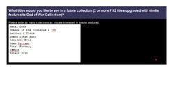 Sondage Sony PS2 HD