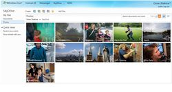 SkyDrive-HTML5-Photos-albums