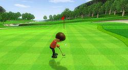 Wii Sports - golf 2