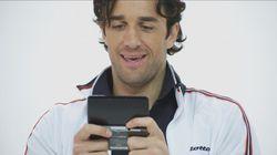 Luca Toni - pub Italie Nintendo 3DS