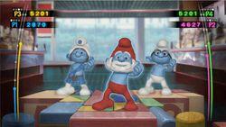 Les Schtroumpfs Dance Party Wii (2)