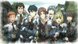 Valkyria Chronicles 2 - artwork