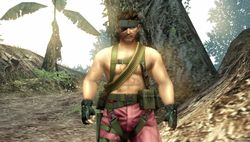 Metal Gear Solid Peace Walker - DLC Naked Snake