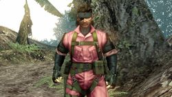Metal Gear Solid Peace Walker - DLC Pink Snake