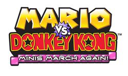 Mario VS Donkey Konh Mini's march again