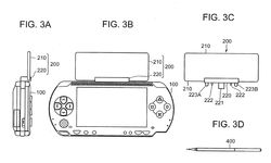 Sony PSP - brevet écran tactile