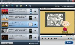 Wondershare Video Converter Ultimate screen