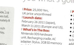 Nintendo 3DS - date Europe ONM