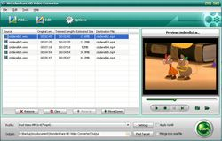 Wondershare HD Video Converter screen