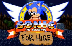 Sonic the Hedgehog For Hire