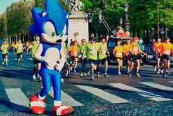Sonic 20 ans - Marathon de Paris 2011 (2)