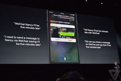 iOS 10 Siri developpeurs