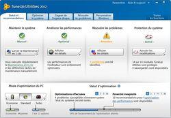 TuneUp Utilities 2012 screen 1