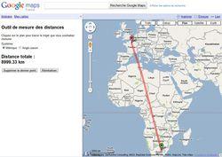 Google-Maps-distances