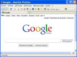Google Shortcuts ligne icônes