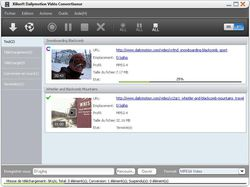 Xilisoft Dailymotion Video Converter screen