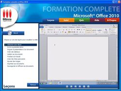 Formation complète à Microsoft® Office 2010 screen 1