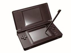 Nintendo DS Lite noire