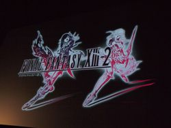 Final Fantasy XIII-2 - logo