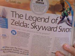 Official Nintendo Magazine - Zelda Skyward Sword - octobre 2011