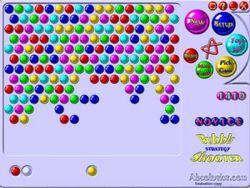 Bubble Golden Pack  screen