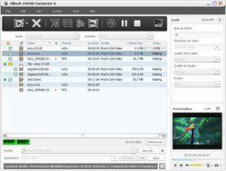 Xilisoft AVCHD Converter screen