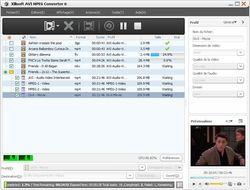 Xilisoft AVI MPEG Converter screen