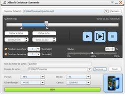 Xilisoft Créateur Sonnerie  screen
