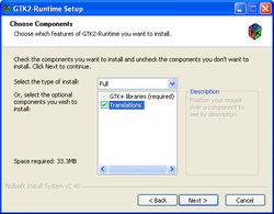 gtk-2-runtime-environment