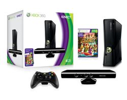 Xbox 360 Slim 4Go + Kinect - Xbox360 4Go Kinect