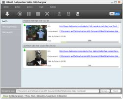 Xilisoft Dailymotion Video Downloader screen
