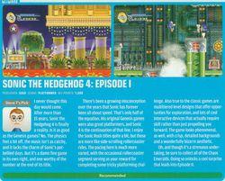 Sonic 4 prix Wii - Nintendo Power