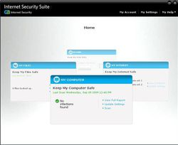 CA Internet Security Suite Plus v7 screen 1