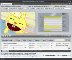 Flash Optimizer screen