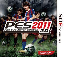 PES 2011 3D - jaquette